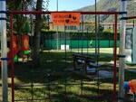 Inaugurazione nuovi giochi parco Gallicano