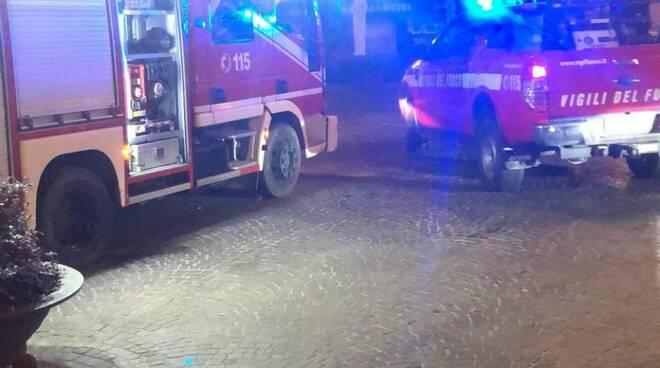 incendio portone dei Borghi 12 luglio 2020 appartamento anziano