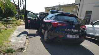 incidente auto moto san romano 7 luglio 2020