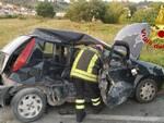 incidente I Fabbri Pontedera  via delle colline per Legoli