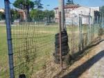 Lavori al campo sportivo di San Donato di Smam