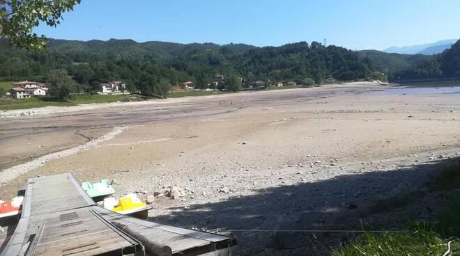 Lavori lago di Gramolazzo