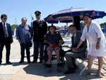 Lido della Polizia di Stato sedia da mare per disabili