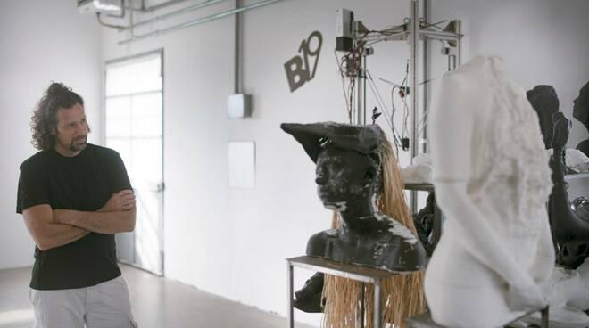 Maicol Borghetti installazione Ritorno al Disordine