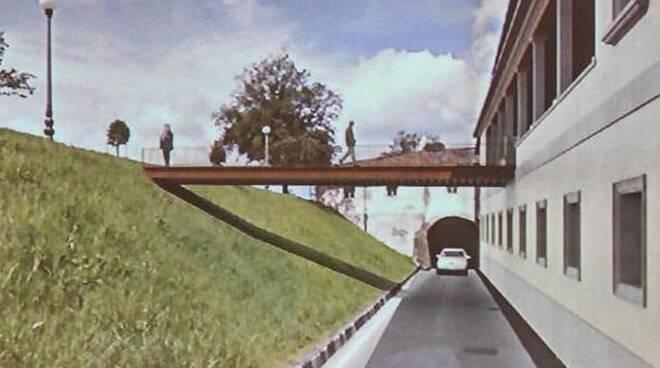 manifattura sud passerella mura