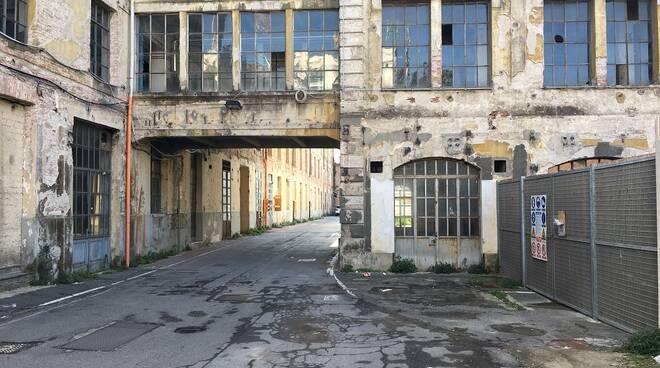manifattura tabacchi sud interni progetto riqualificazione