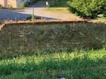 mascherine abbandonate mura Marco Martinelli sopralluogo