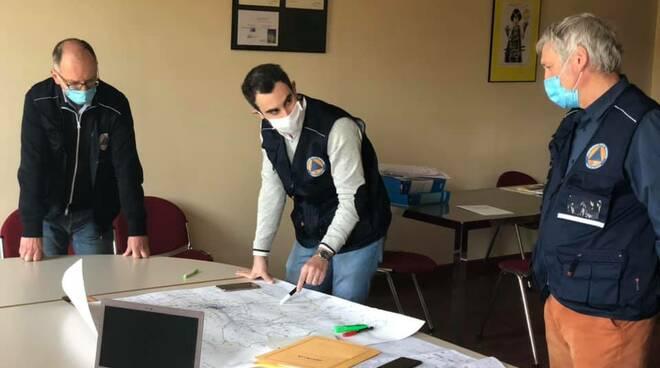 mascherine distribuzione Protezione civile Comune di Lucca
