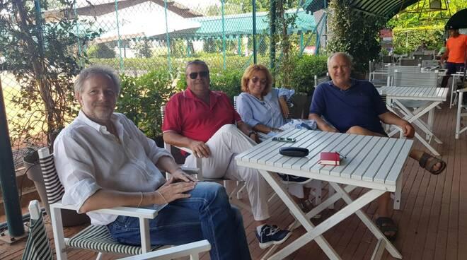 Massimiliano Baldini in visita al Ct Forte dei Marmi