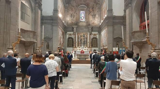 messa San Paolino 12 luglio 2020