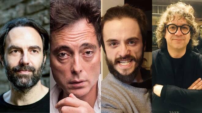 Neri Marcorè, Maurizio Lombardi, Jonathan Canini e Remo Anzovino