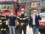 Nicola Cianelli comandante dei vigili del fuoco a Pontedera