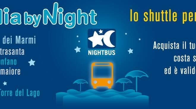 nightbus Versilia