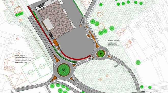 planimetria progetto mobilità Viareggio