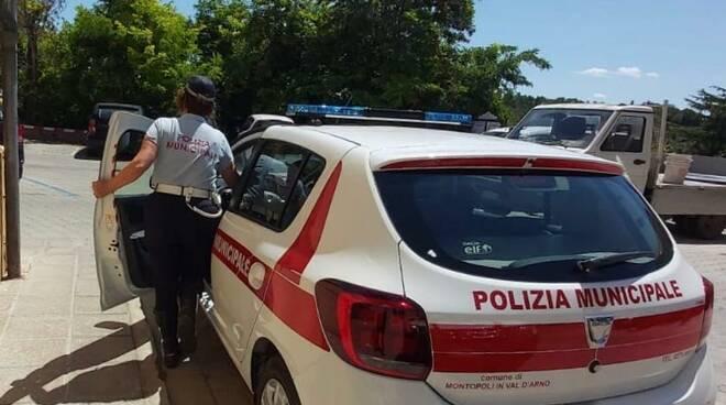 polizia municipale montopoli valdarno