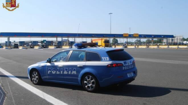 Polstrada mezzo bretella Viareggio Massarosa