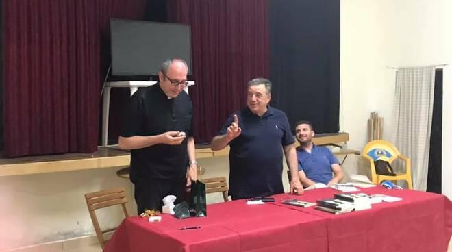 presentazione libro don Francesco Ricciarelli La Conchiglia di Santiago San Miniato
