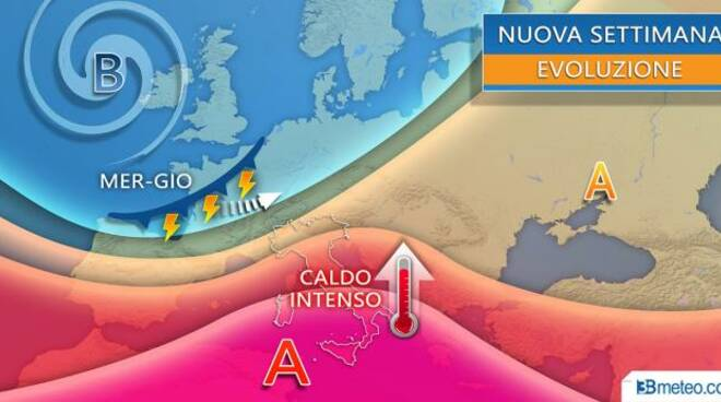 previsioni caldo fine luglio inizio agosto 3bmeteo