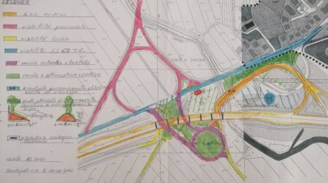 Progetto svincolo FiPiLi Montopoli geometra Etelbo Arzilli