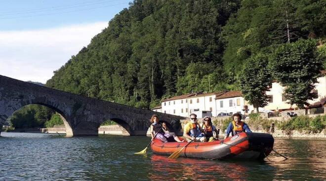 rafting ponte del diavolo