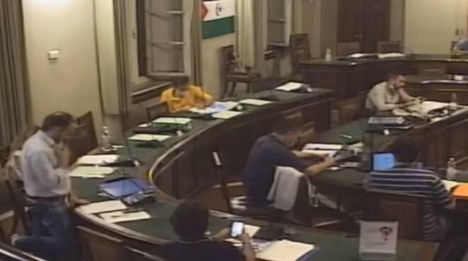 Remo Santini consiglio comunale Palazzo Santini rilancio via dei Fossi