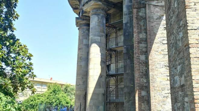 restauro tempietto Nottolini