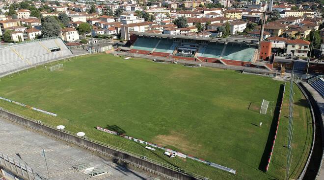 rilievi riqualificazione stadio Porta Elisa