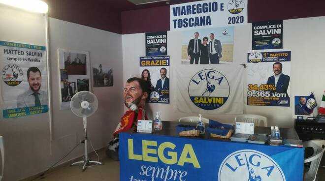 sede Lega Salvini Premier Torre del Lago