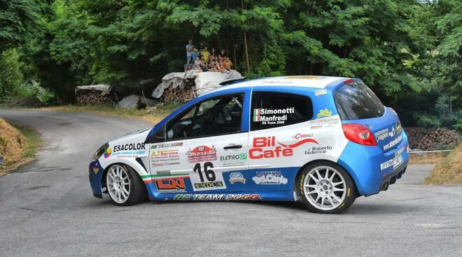 Simonetti Manfredi Rally Lucca