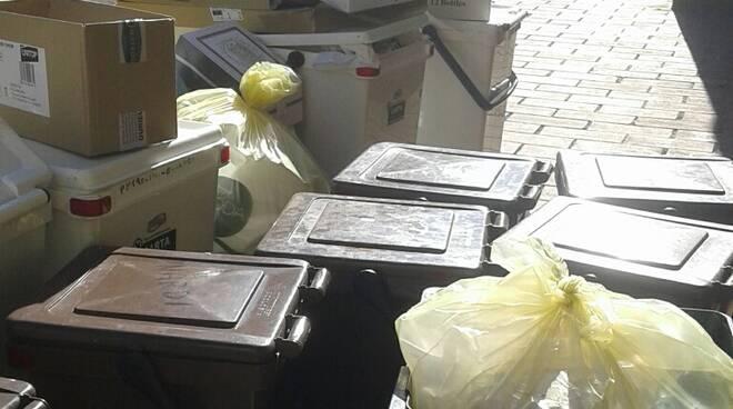 spazzatura accumulata San Vito nuova raccolta rifiuti