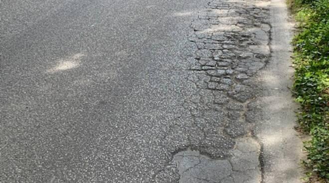 strade disastrate San Cassiano di Moriano sopralluogo Marco Martinelli