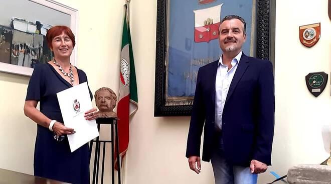 Alessandra Faranda Cordella sindaco Leonardo Fornaciari Porcari incontro