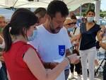 Alessandra Nardini e Matteo Salvini