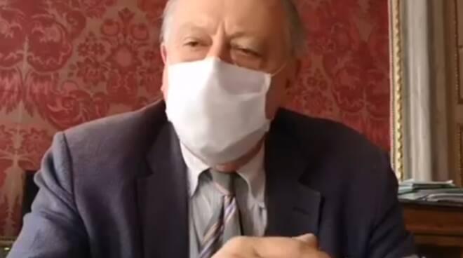 Alessandro Tambellini mascherina coronavirus