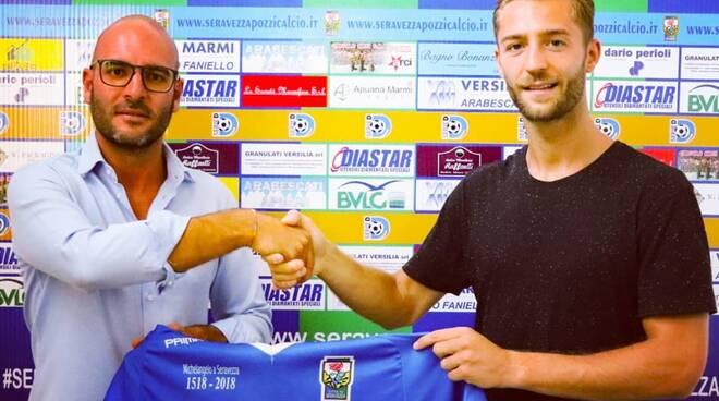 Andrea Bagnai Seravezza Pozzi Calcio