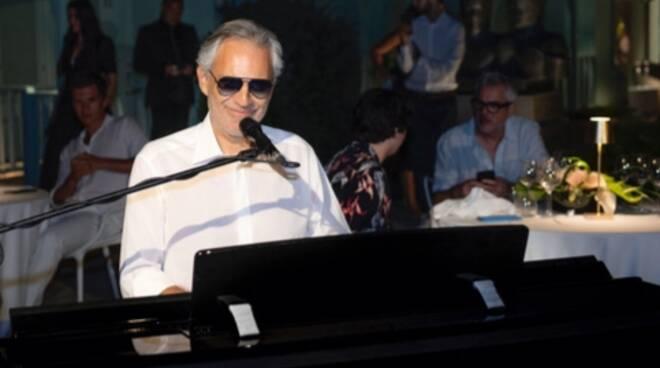 Andrea Bocelli al Summer Gala Dinner