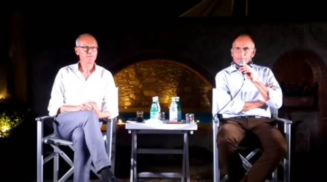 Andrea pieroni e Enrico Letta