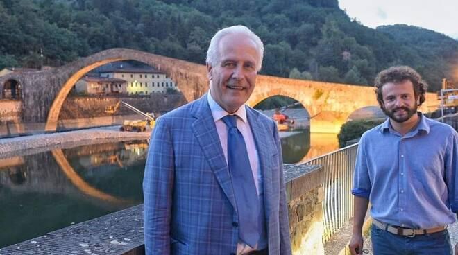 Andreuccetti e Giani al Ponte del Diavolo