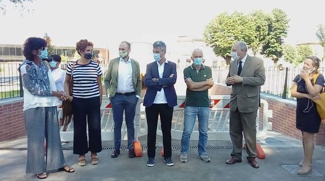 apertura sottopasso piazzale Boccherini Sant'Anna