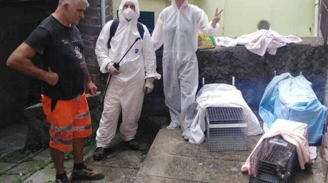 Arca Della Valle intervento volontarie Casabasciana