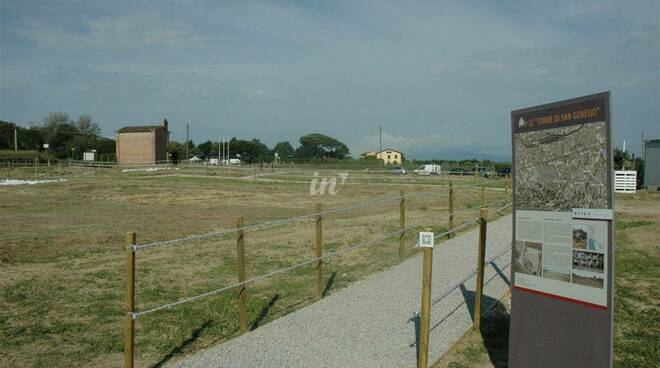 area archeologica san genesio san miniato