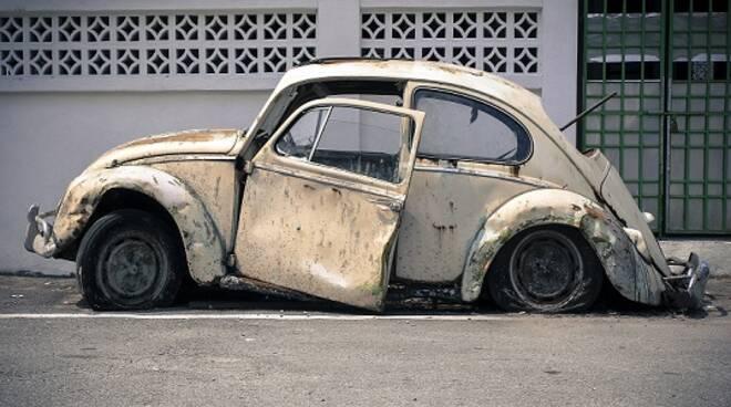 auto vecchia rottamazione