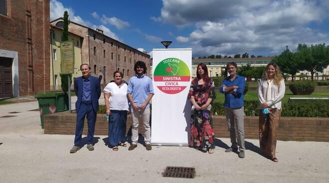 Candidati regionali lista Sinistra civica ecoogica