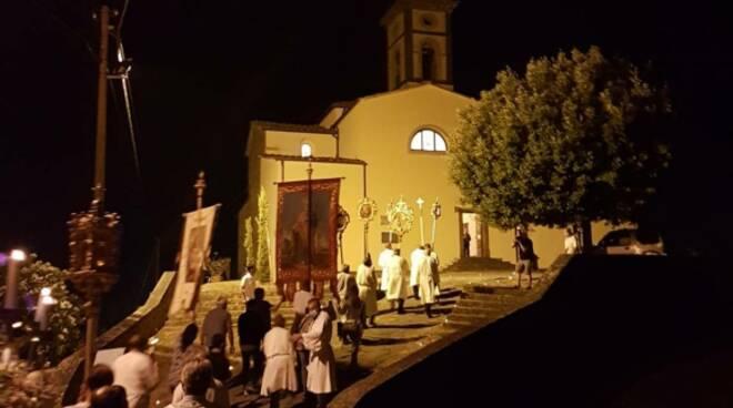 celebrazione Madonna delle Grazie Tofori Capannori