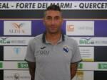 Christian Amoroso allenatore Real Forte Querceta serie D