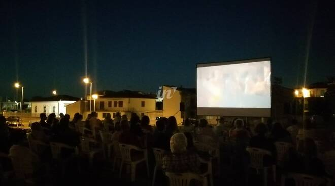 cinema all'aperto arci