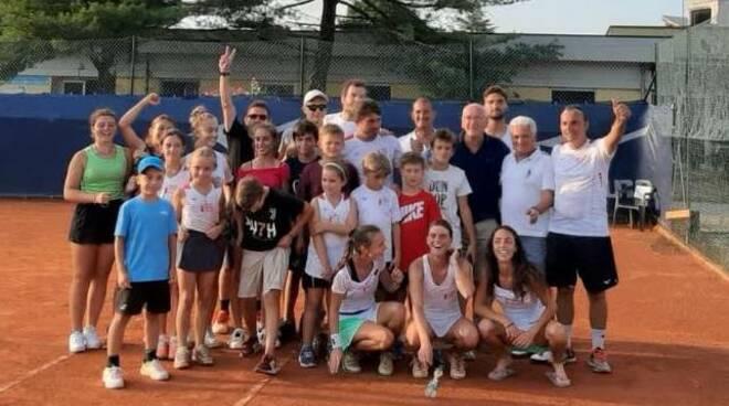 Circolo Tennis Lucca finale scudetto Todi