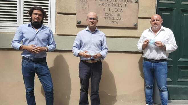 consiglieri di opposizione provincia di Lucca