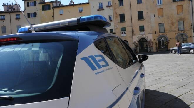 controlli polizia centro storico Lucca