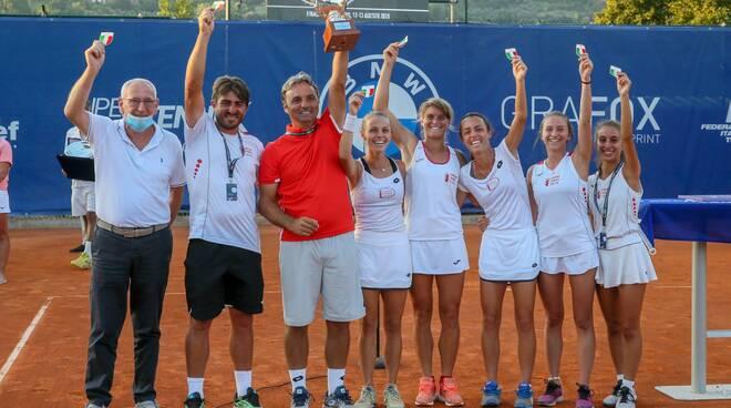 Ct Lucca vittoria scudetto tennis